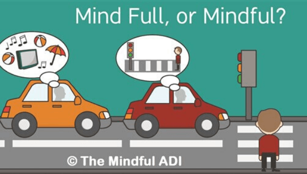 Mindfulness reduces driving anxiety and driving test nerves